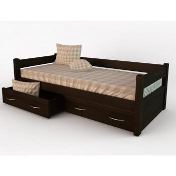 Кровать DreamLine Тахта с выкатными ящиками (бук)