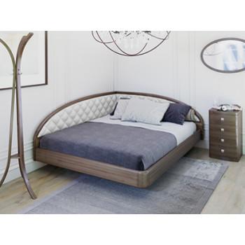 Кровать Торис Мати Тинто левое ( шпон бука)