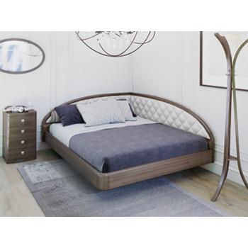 Кровать Торис Мати Тинто правое (шпон бука)