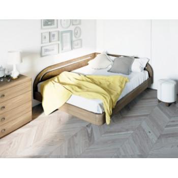 Кровать Торис  Мати Румо левое (шпон бука)