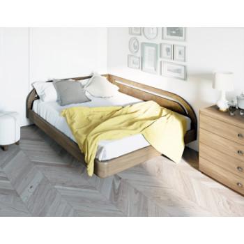 Кровать Торис Мати Румо правое (шпон бука)