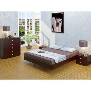 Кровать Торис  Мати без спинки (шпон бука)