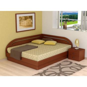 Кровать Торис Юма Румо левое (шпон бука)
