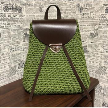 Рюкзак цв. зелёный